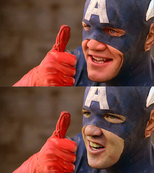 Is Peyton Manning Captain America?